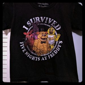 """I Survived Five Nights at Freddy's"" T-shirt"